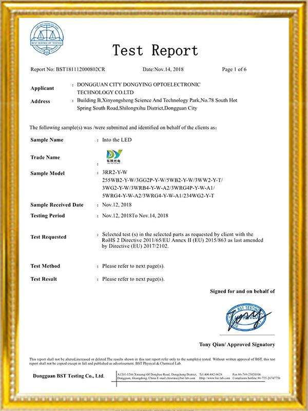 东颖光电资质证书