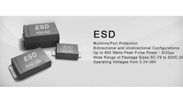 ESD静电二极管选型指南